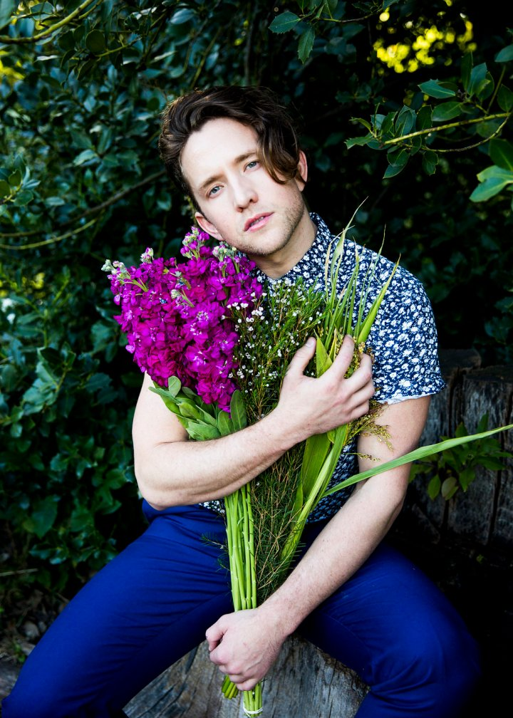 But today all together let's embrace and celebrate St. Patrick's Day and the best way is to appreciate this following images, with spring in mind, Irish model Cameron McCartney in new editorials by Hannah Cohen at the Brooklyn Botanical Gardens, NYC.