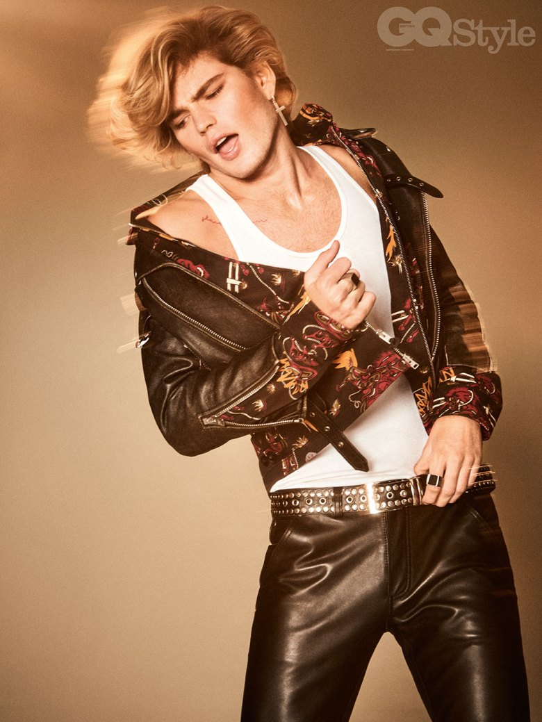 Jordan Barrett for GQ Style5