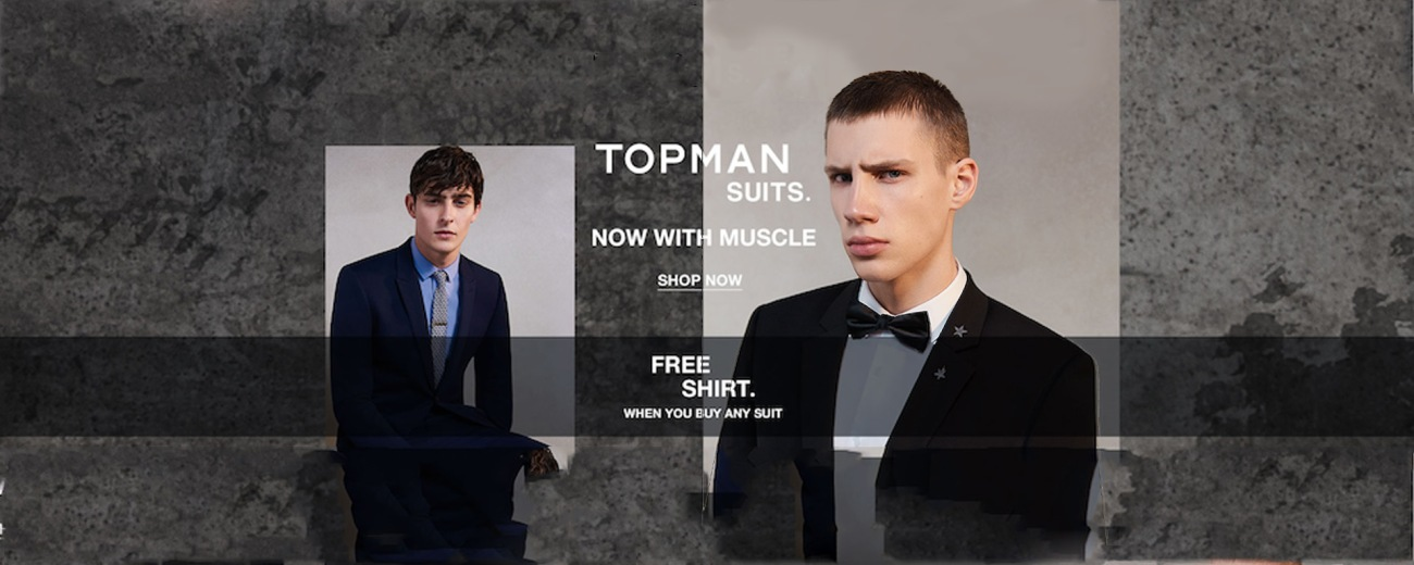 TOPMAN Suits SS171cover