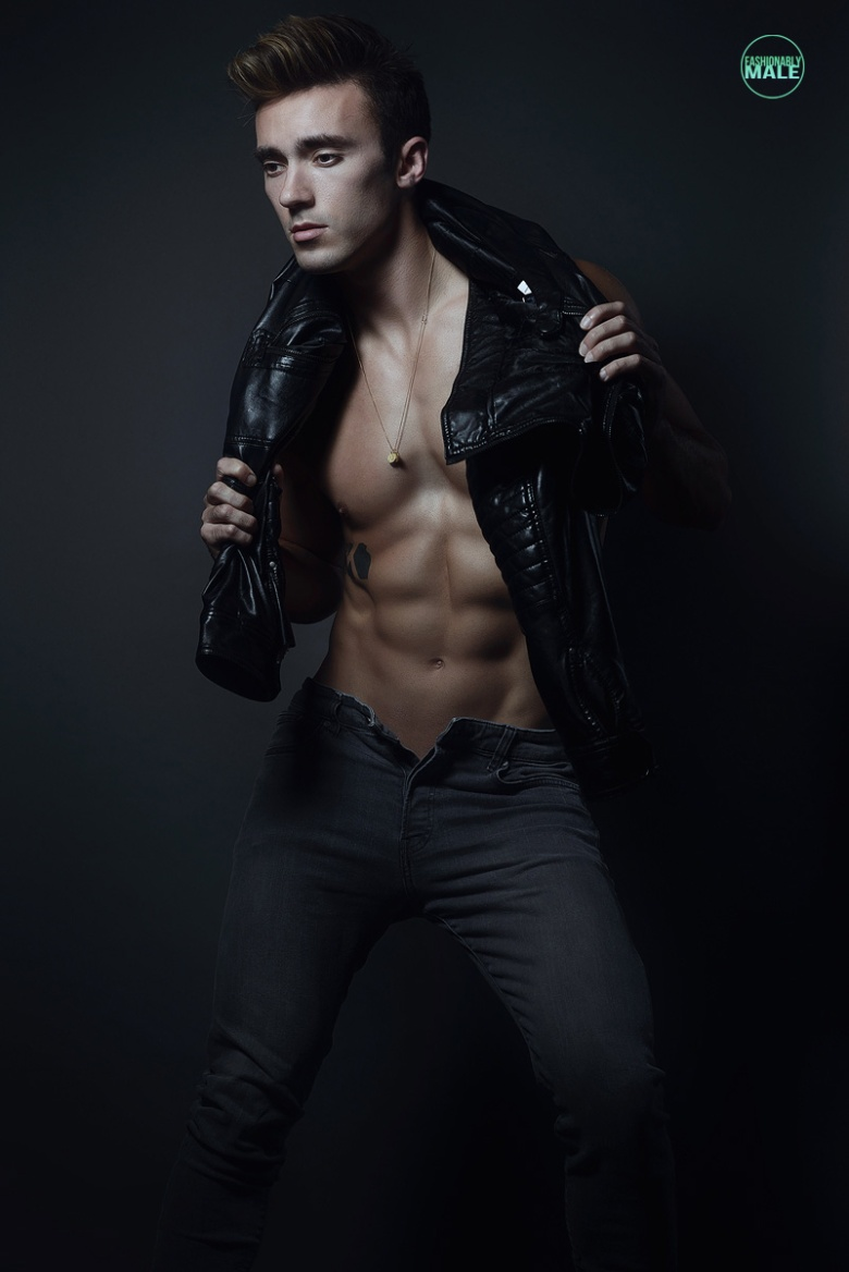 Bradley B. by Armando Adajar for Fashionably Male2