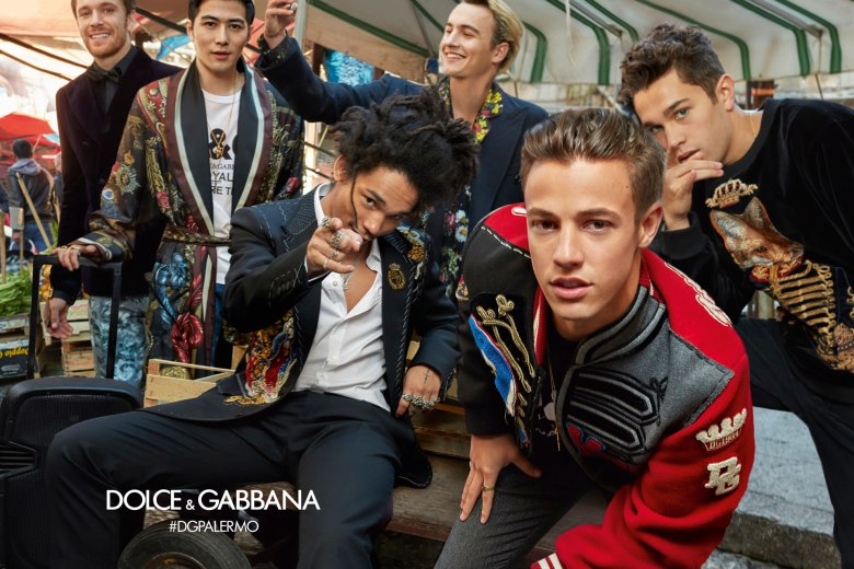 DOLCE AND GABBANA AW17 CAMPAIGN1