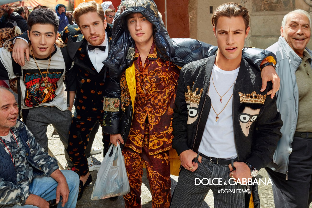 DOLCE AND GABBANA AW17 CAMPAIGN10