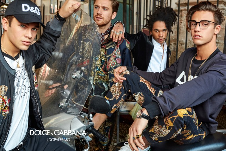 DOLCE AND GABBANA AW17 CAMPAIGN3
