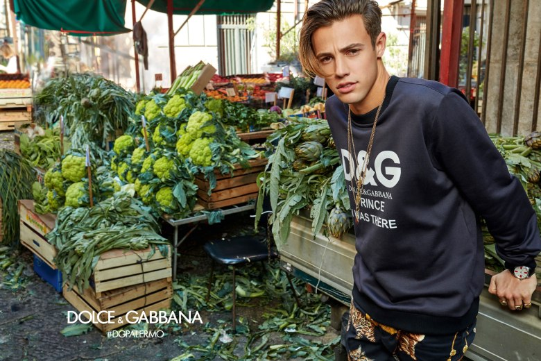 DOLCE AND GABBANA AW17 CAMPAIGN4