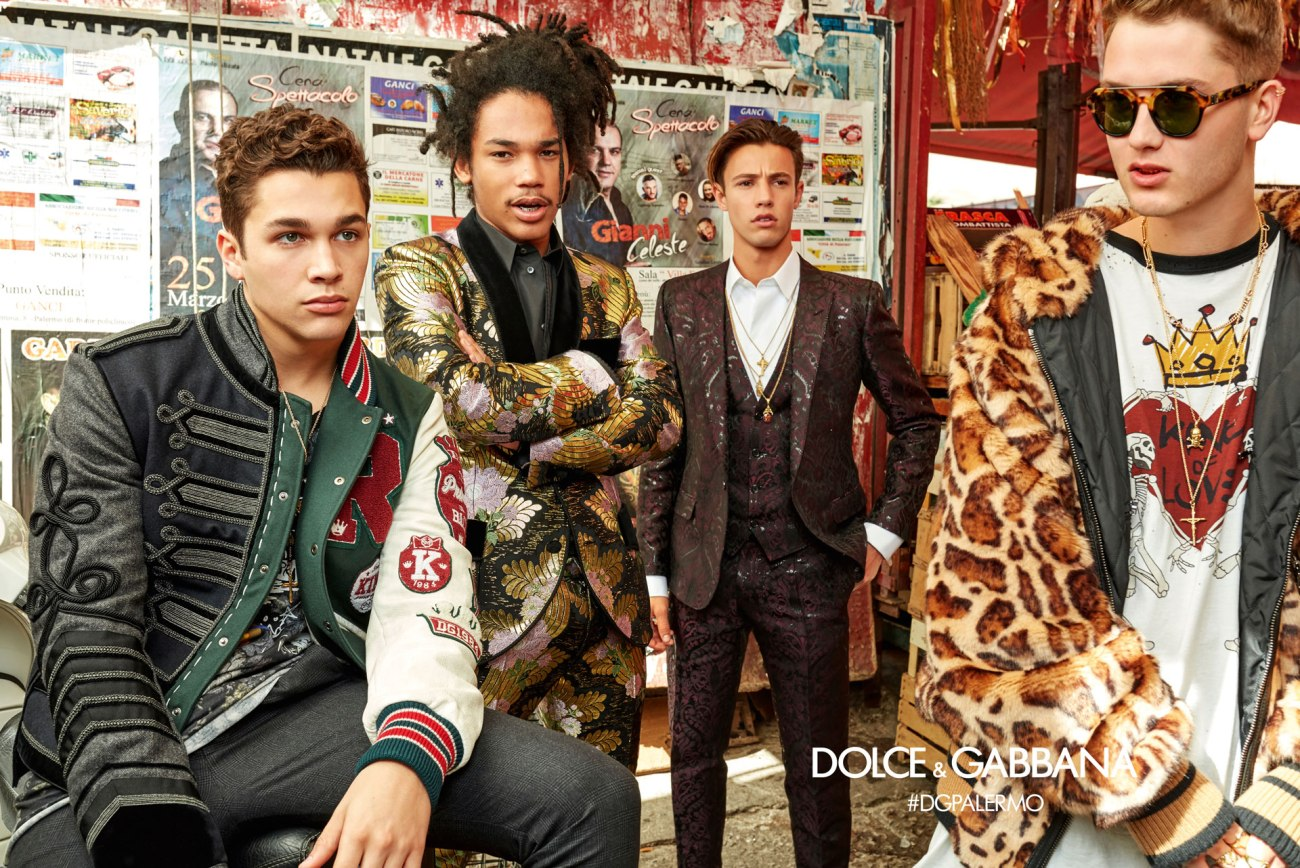 DOLCE AND GABBANA AW17 CAMPAIGN7