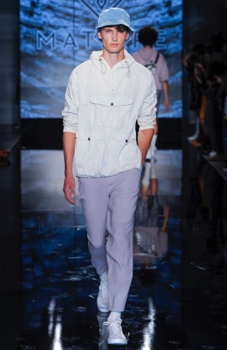 MATIERE MENSWEAR SPRING SUMMER 2018 NEW YORK6