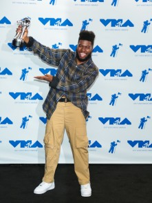 Khalid attends the 2017 MTV Video Music Awards at The Forum on August 27, 2017 in Inglewood, California.