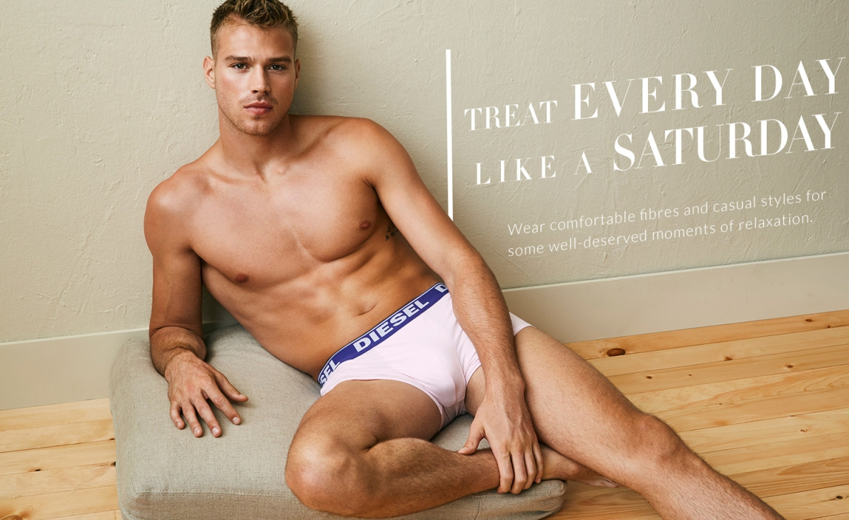 Gotcha! Matthew Noszka for Simons Underwear