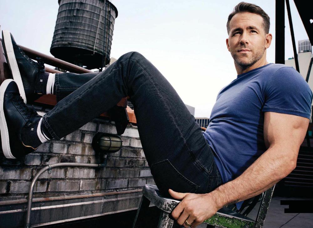 Ryan Reynolds for Men's Health UK September 2017 Issue6