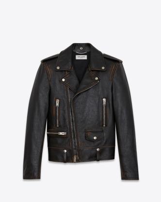 Original YSL Leather Biker Jacket $5,250.00 USD