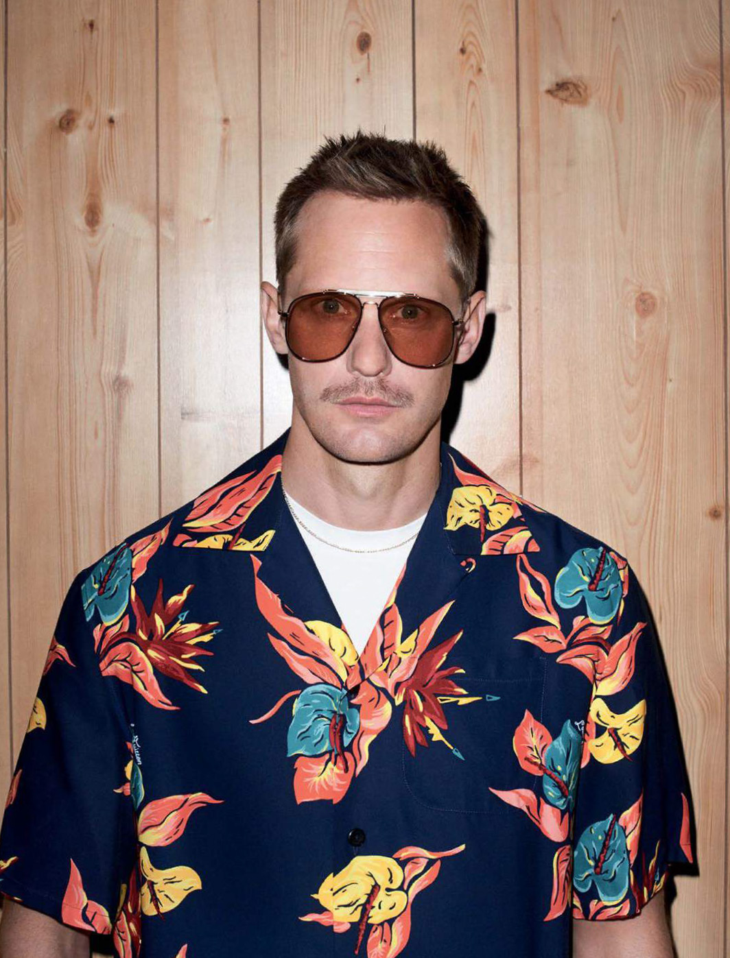 Alexander Skarsgård by Terry Richardson for GQ Style Germany AW171