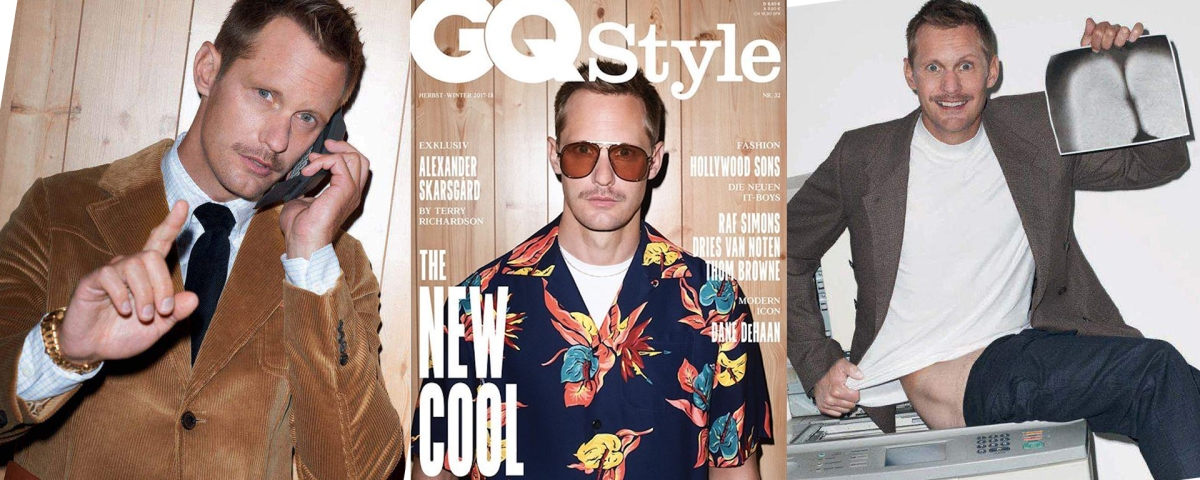 Alexander Skarsgård by Terry Richardson: The New Cool Guy