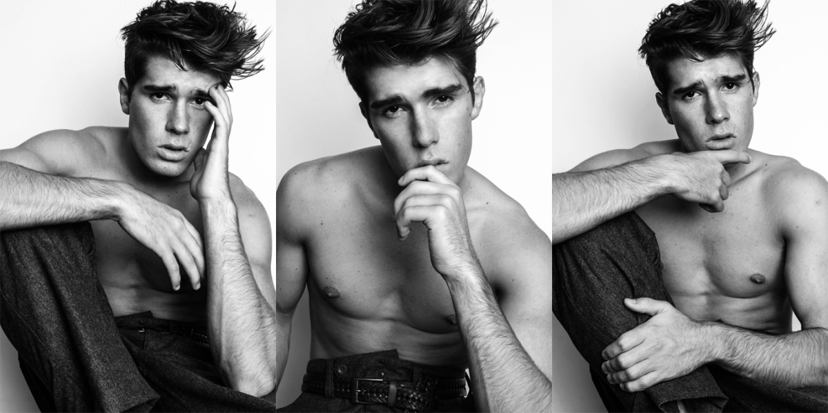"""Faces of the Boy Next Door"" Part 1 - Judd Gross By Malcolm Bacani"