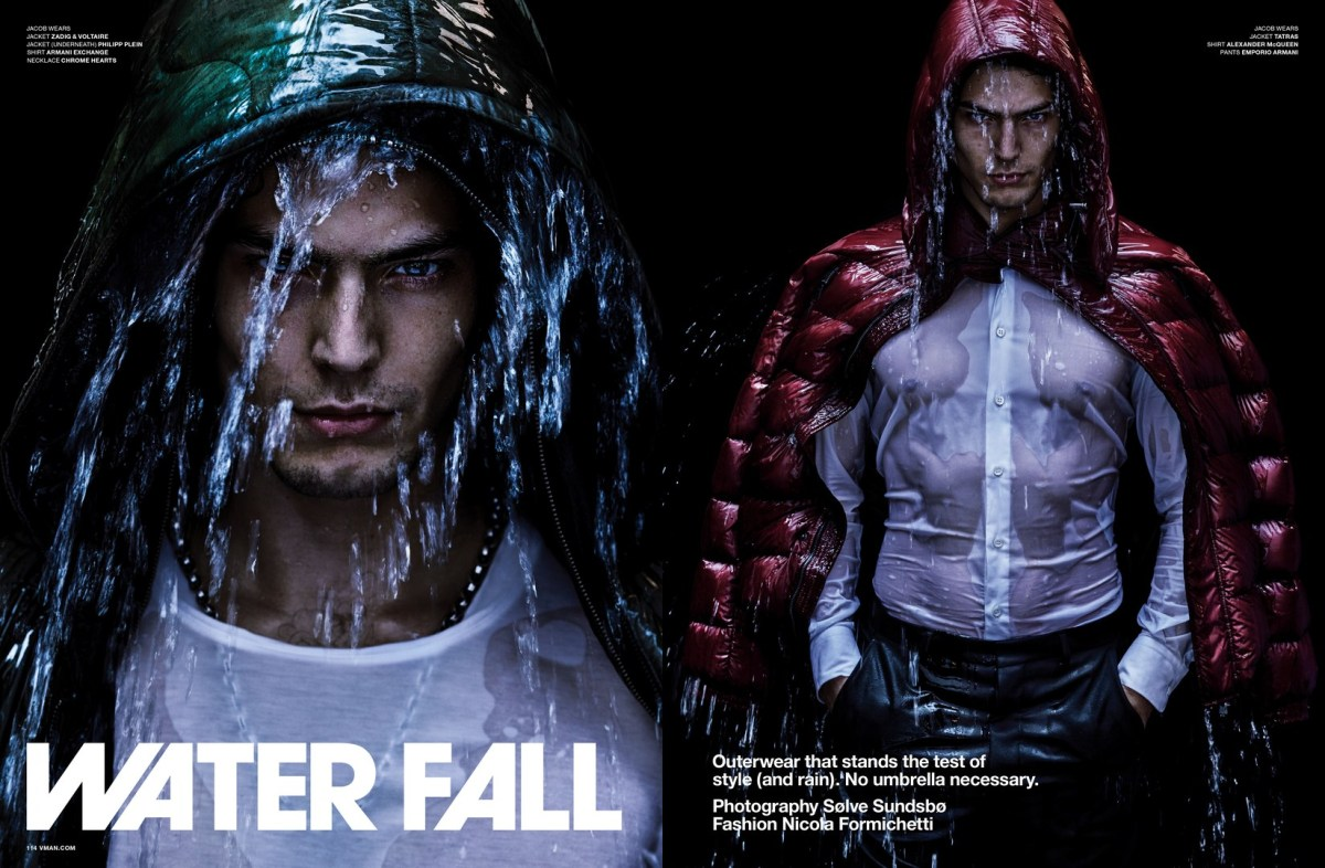 "VMAN #38 A/W 2017 Presents ""Water Fall"" by Sølve Sundsbø"