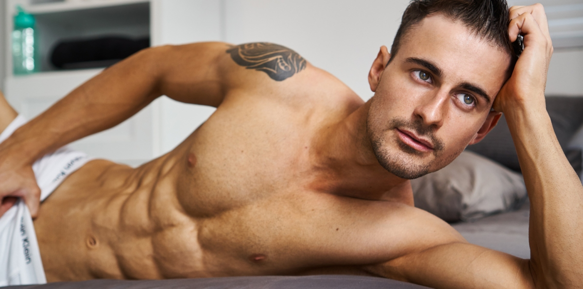 From Professional Fitness to Male Model - Discover Dan Jones Pics by Travis Lane