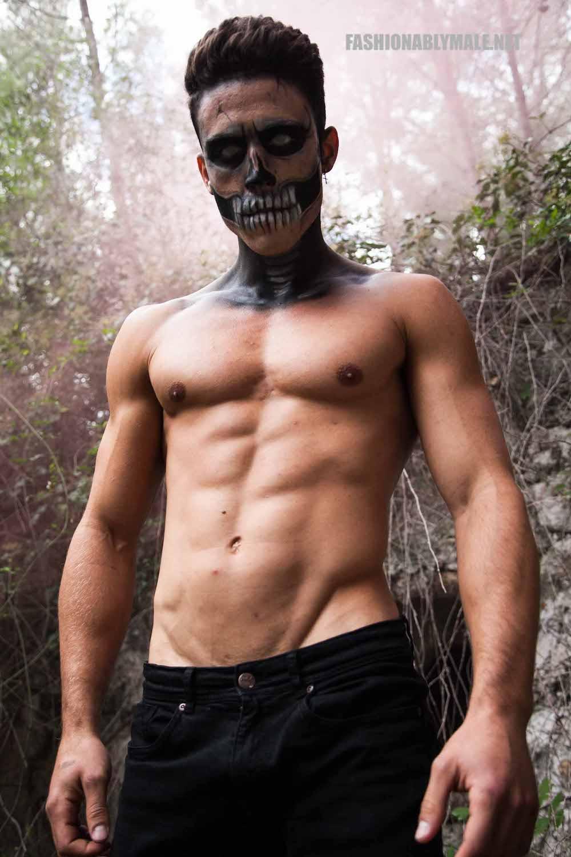 Halloween Skull Boy Borja by Jose Martinez17