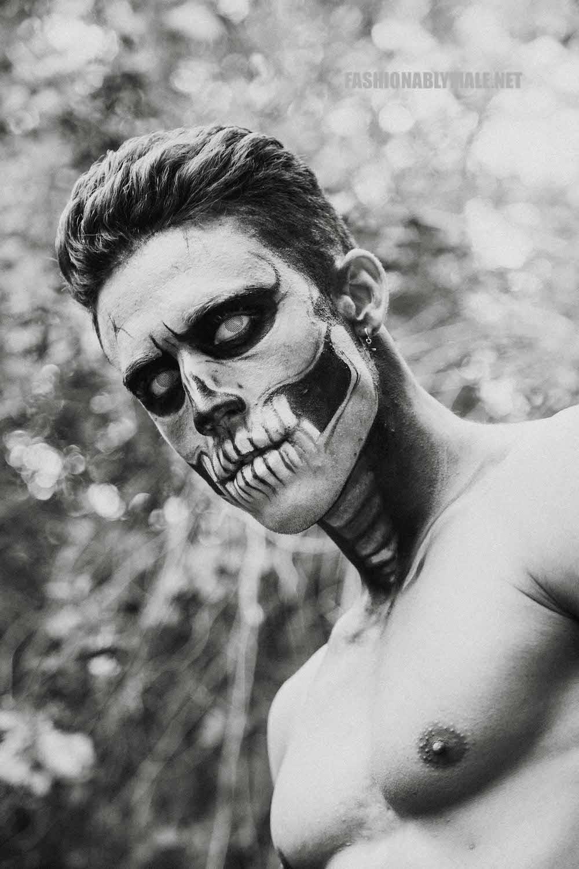 Halloween Skull Boy Borja by Jose Martinez18