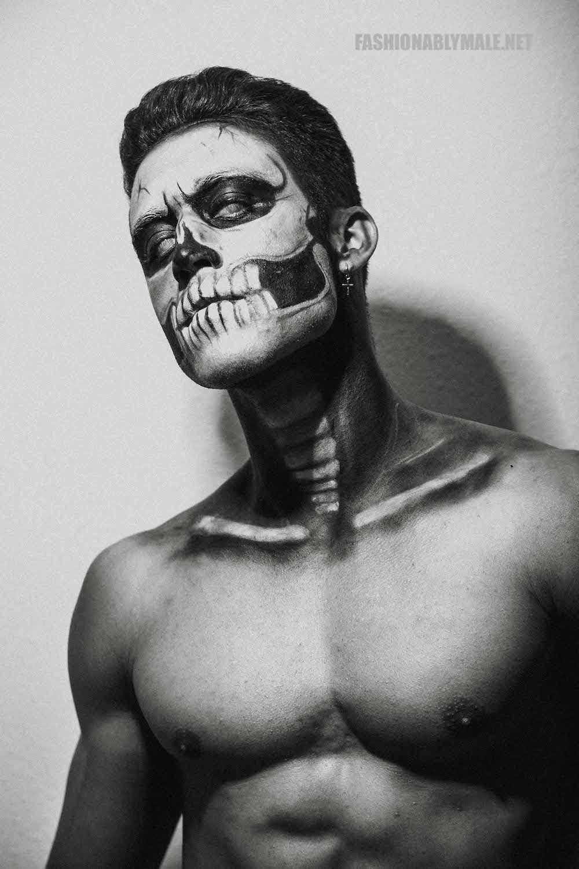 Halloween Skull Boy Borja by Jose Martinez3