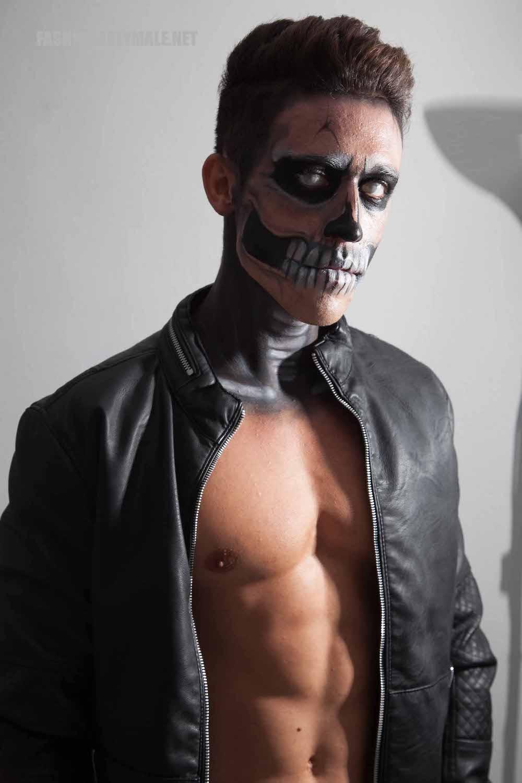 Halloween Skull Boy Borja by Jose Martinez4
