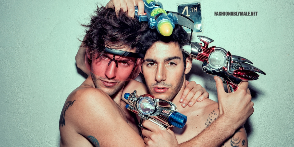 """Boys just want to have fun!"" The Zakar Twins Pics by Lagaret"