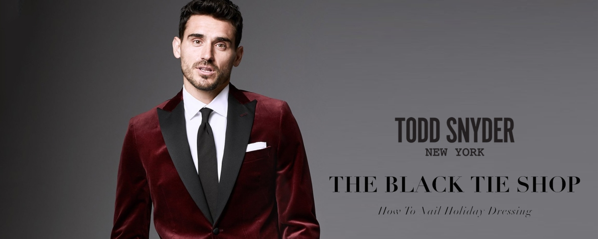 Check out the Todd Snyder Black Tie Shop