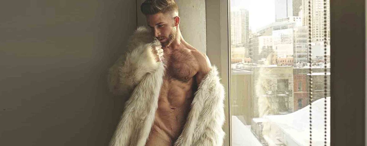 Brock Williams fur + naked thanks to KJ Heath - Exclusive