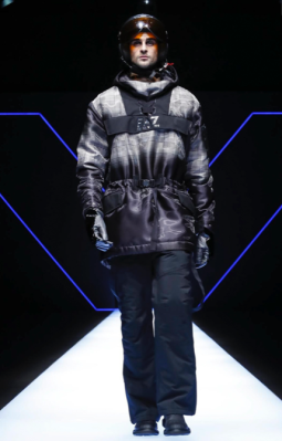 EMPORIO ARMANI MENSWEAR FALL WINTER 2018 MILAN