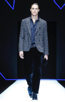 EMPORIO ARMANI MENSWEAR FALL WINTER 2018 MILAN1