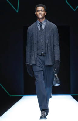 EMPORIO ARMANI MENSWEAR FALL WINTER 2018 MILAN11