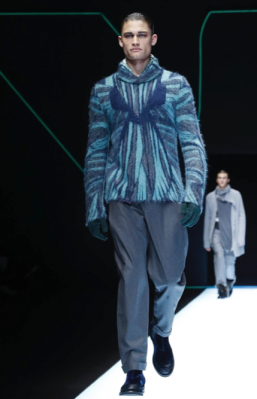 EMPORIO ARMANI MENSWEAR FALL WINTER 2018 MILAN12