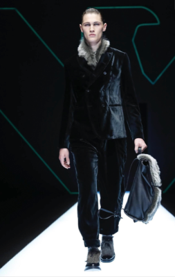 EMPORIO ARMANI MENSWEAR FALL WINTER 2018 MILAN13