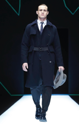 EMPORIO ARMANI MENSWEAR FALL WINTER 2018 MILAN14