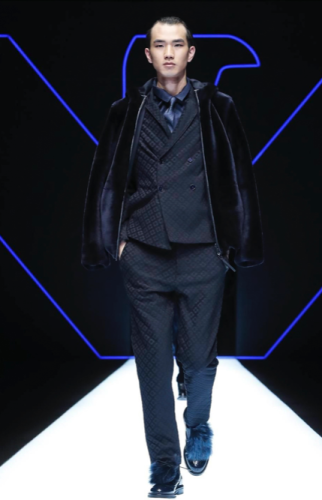 EMPORIO ARMANI MENSWEAR FALL WINTER 2018 MILAN15
