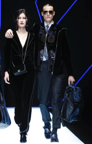 EMPORIO ARMANI MENSWEAR FALL WINTER 2018 MILAN16