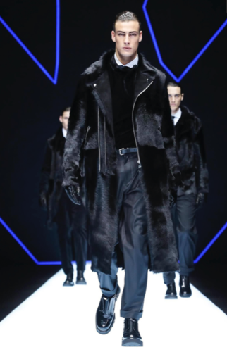 EMPORIO ARMANI MENSWEAR FALL WINTER 2018 MILAN17