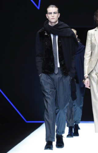 EMPORIO ARMANI MENSWEAR FALL WINTER 2018 MILAN24