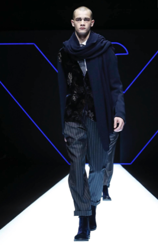 EMPORIO ARMANI MENSWEAR FALL WINTER 2018 MILAN26