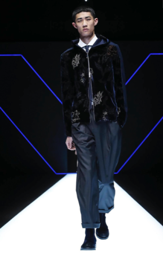 EMPORIO ARMANI MENSWEAR FALL WINTER 2018 MILAN27