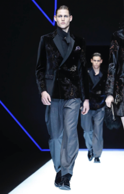 EMPORIO ARMANI MENSWEAR FALL WINTER 2018 MILAN31