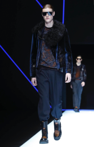 EMPORIO ARMANI MENSWEAR FALL WINTER 2018 MILAN33