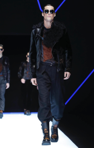 EMPORIO ARMANI MENSWEAR FALL WINTER 2018 MILAN34