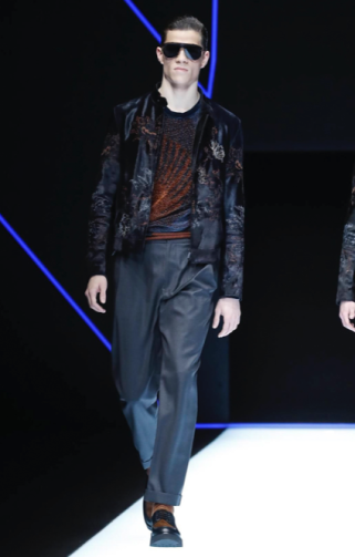 EMPORIO ARMANI MENSWEAR FALL WINTER 2018 MILAN35