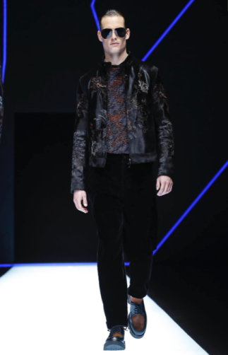 EMPORIO ARMANI MENSWEAR FALL WINTER 2018 MILAN36