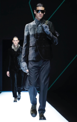 EMPORIO ARMANI MENSWEAR FALL WINTER 2018 MILAN4