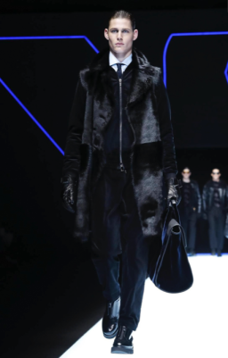 EMPORIO ARMANI MENSWEAR FALL WINTER 2018 MILAN48