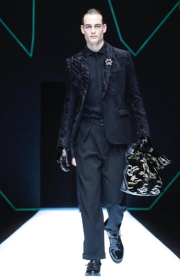 EMPORIO ARMANI MENSWEAR FALL WINTER 2018 MILAN49