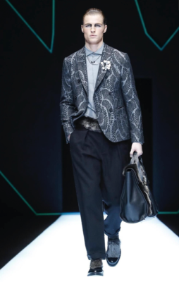 EMPORIO ARMANI MENSWEAR FALL WINTER 2018 MILAN51