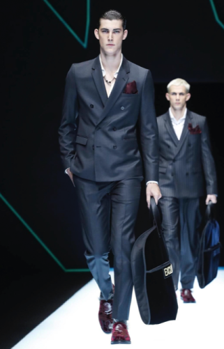EMPORIO ARMANI MENSWEAR FALL WINTER 2018 MILAN53