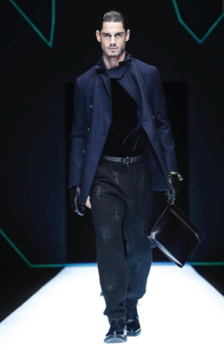 EMPORIO ARMANI MENSWEAR FALL WINTER 2018 MILAN54