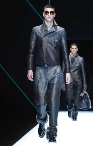 EMPORIO ARMANI MENSWEAR FALL WINTER 2018 MILAN61